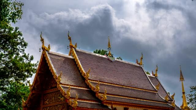 4K Timelapse - Thai style Temple video