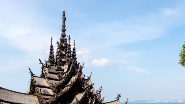 time lapse la thailandia è una splendida giornata, tailandia. - fiume chao phraya video stock e b–roll
