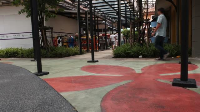 HD time-lapse : The Circle Ratchapruk , Bangkok , Thailand