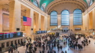 istock 4K Time-lapse Tourist Pedestrians Crowd walk in New York Grand Central train and metro Station travel american lifestyle concept Newyork,United States Newyork 1220480559