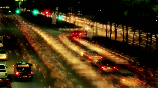 Timelapse Traffic video