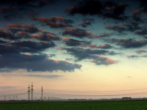 pal: time lapse - attrezzatura energetica video stock e b–roll