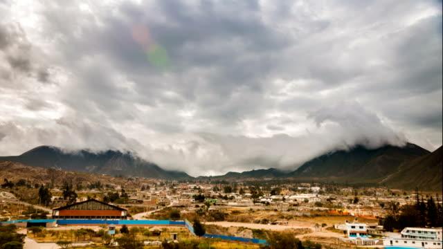 half of the world in ecuador 2 timelapse - ekvatorn latitud bildbanksvideor och videomaterial från bakom kulisserna