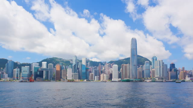 Timelapse video of Hong Kong in daytime video