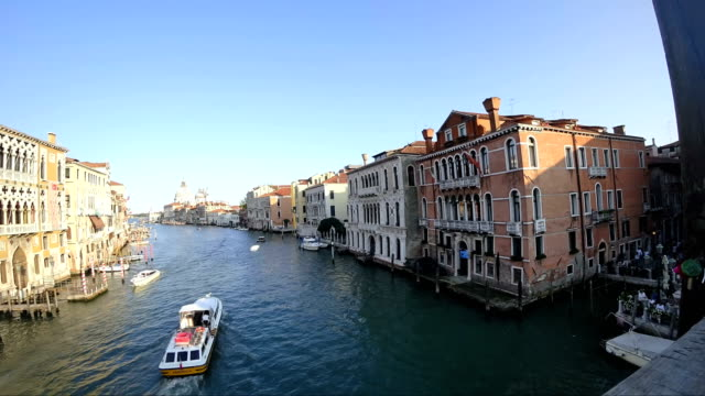 Timelapse video of the Grand Canal in Venice Italy September 2017 video