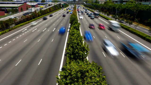 Timelapse Video Singapore Central Expressway video