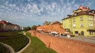 istock Timelapse view over Warsaw Poland 1316423132