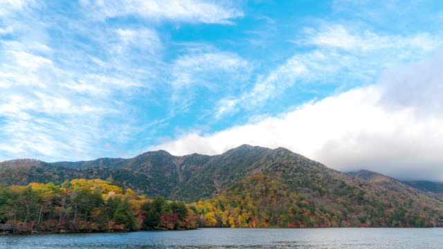 Time-lapse: Yumoko Lake upper Nikko Tochigi Japan video
