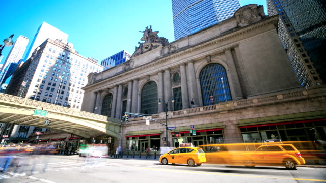 HD Time-lapse:Grand Central Station, New York City video