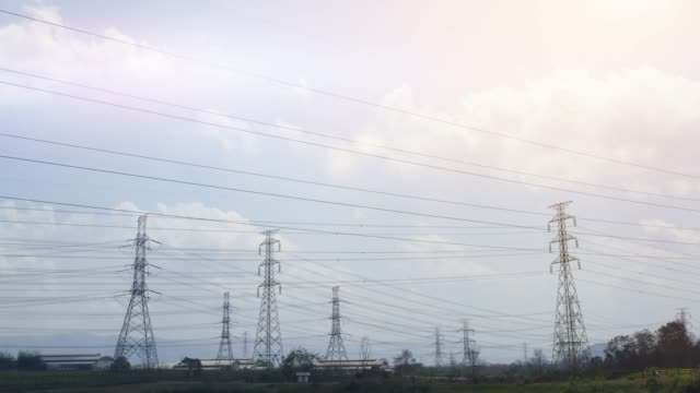 Timelapse:power plant video
