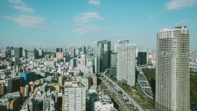 4K Time-lapse:Tokyo cityscape Japan video