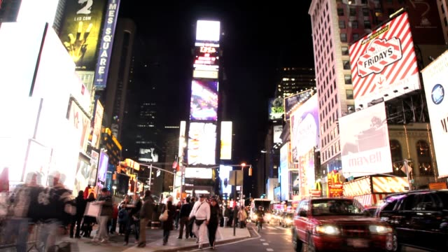 Times Square in New York City Time Lapse