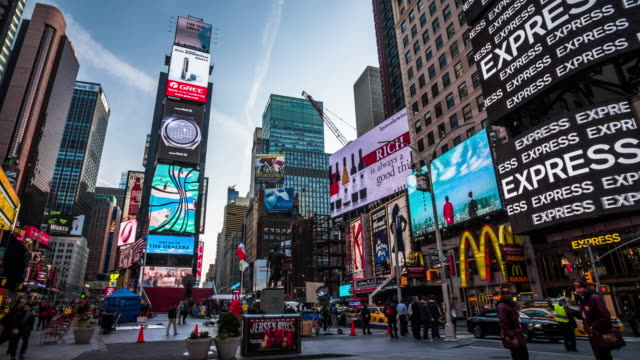 Times Square in New York City, USA video