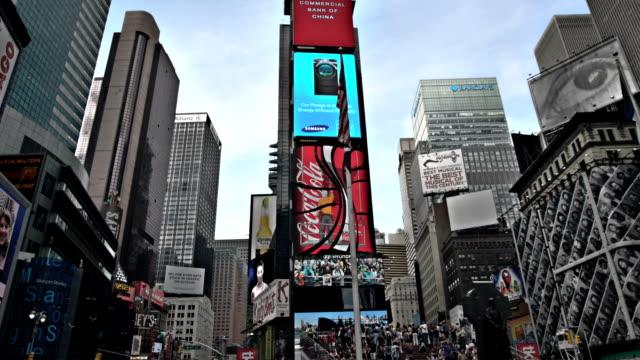 Veces Plaza en Nueva York, EE.UU. - vídeo