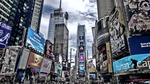 Times Square en Nueva York - vídeo