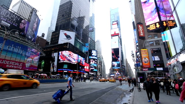 HD VDO : Times Square, New York City video