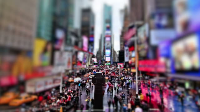 Times Square Time Lapse Zoom video