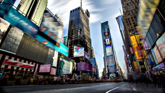 Times Square timelapse video