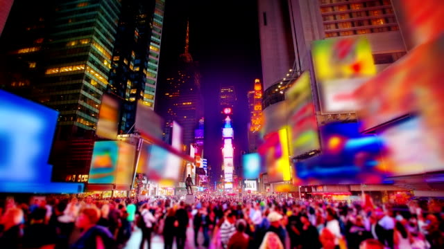 Times Square.NYC. video
