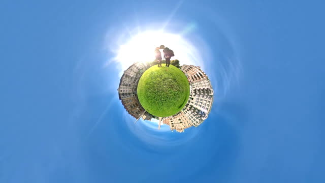 Tiny Planet Couple Travel video