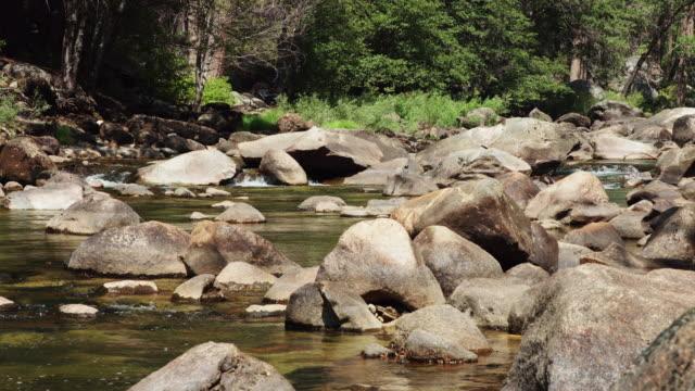 Tiny Waterfall in Yosemite National Park video