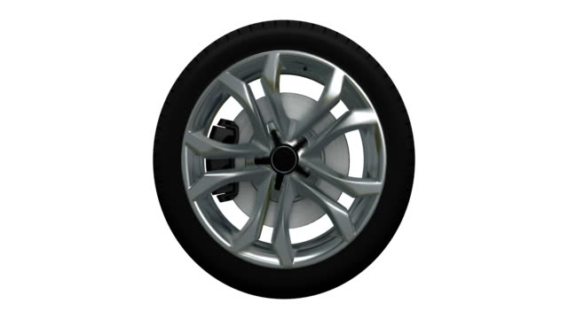 Tire blurred motion loopable spin with luma matte 1-8 object spin. 8-16 luma matte wheel stock videos & royalty-free footage