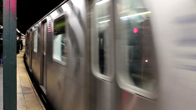 Title Subway Passing Close video