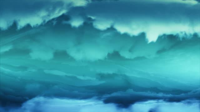 Titles. Tornado animation. Clouds vortex. Looping background. No lightning. Blue video