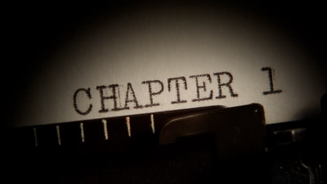 CHAPTER 1 to 4. Typing a book. video