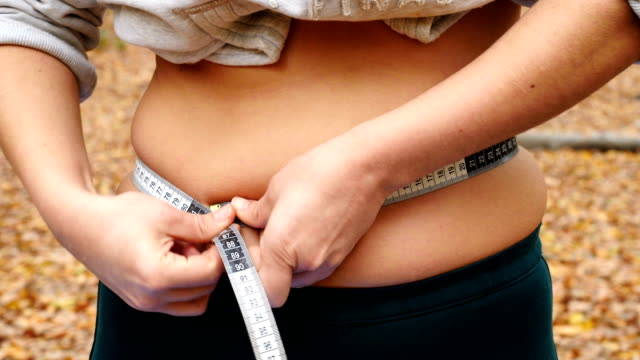 to lose weight to lose weight measuring stock videos & royalty-free footage
