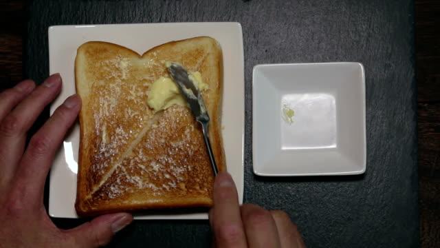 stockvideo's en b-roll-footage met toast - geroosterd brood