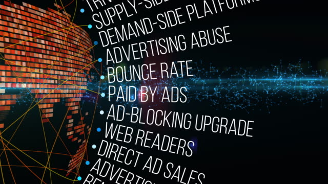 Tokenization in advertising Terms A loop animation with Tokenization (in advertising) Terms digital marketing stock videos & royalty-free footage