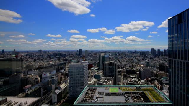 東京 airial 街並みのタイムラップビデオ - 影点の映像素材/bロール