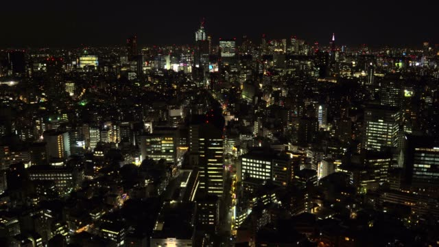 夕暮れ時の東京の街並 - 地域点の映像素材/bロール