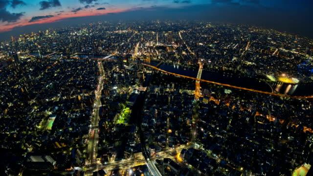 Tokyo Cityscape Time Lapse video