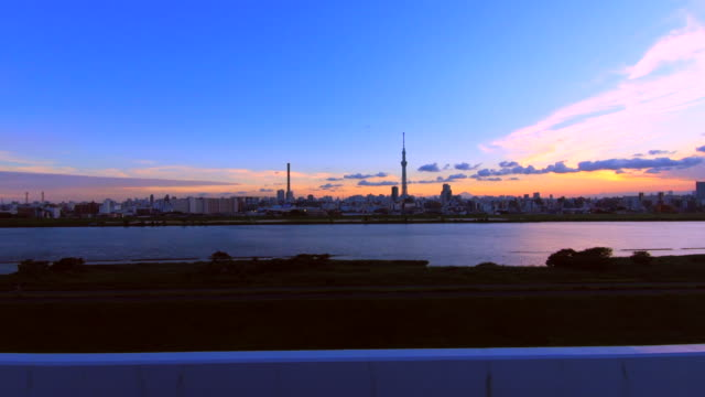 Tokyo cityscape with the Tokyo Sky Tree