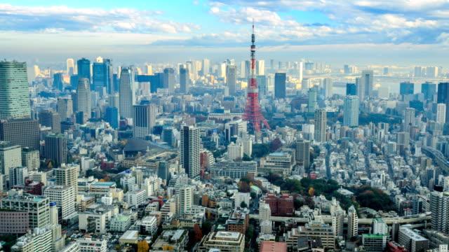 東京で日本 - 東京タワー点の映像素材/bロール