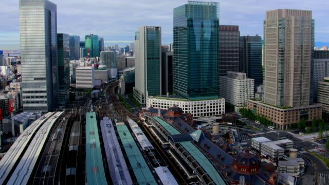 vidéos et rushes de la gare de tokyo le temps qui passe - wagon