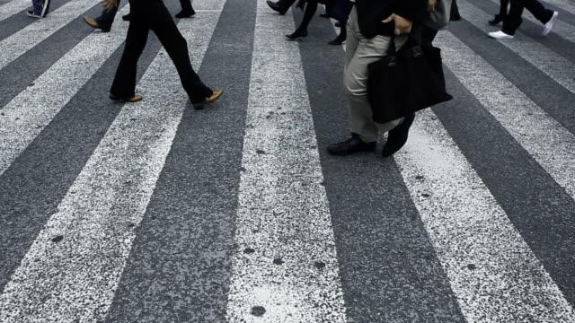 東京のストリート - 通勤点の映像素材/bロール