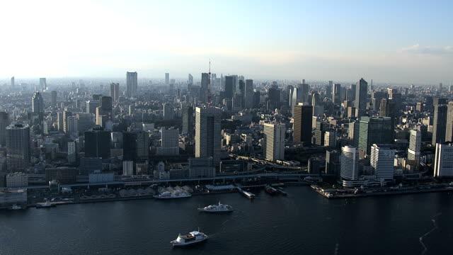 東京タワー、六本木周辺 - 東京点の映像素材/bロール