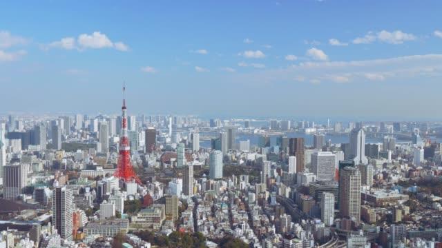 東京タワー cinemagraph - アーバンライフスタイル点の映像素材/bロール