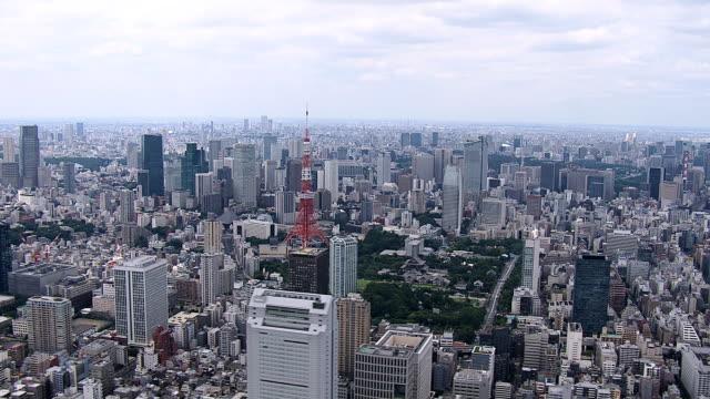 東京タワー一日の時間 - 東京タワー点の映像素材/bロール