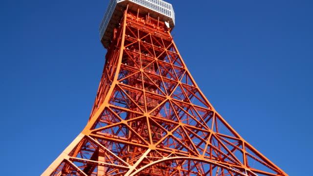 東京タワー、日本 - 東京タワー点の映像素材/bロール