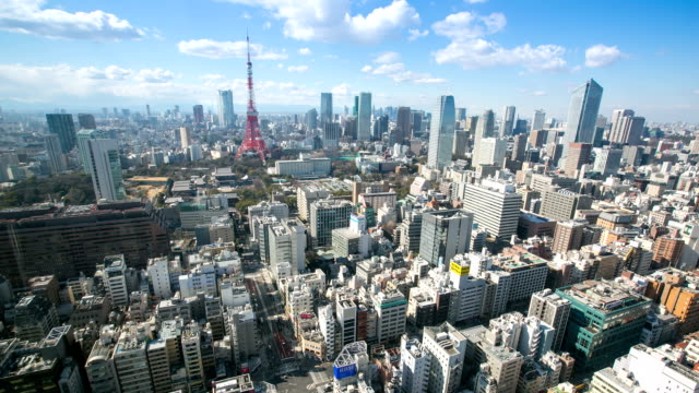 Tokyo Tower Time Lapse video