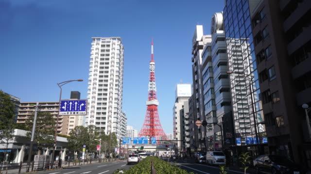 東京タワー  - 東京タワー点の映像素材/bロール