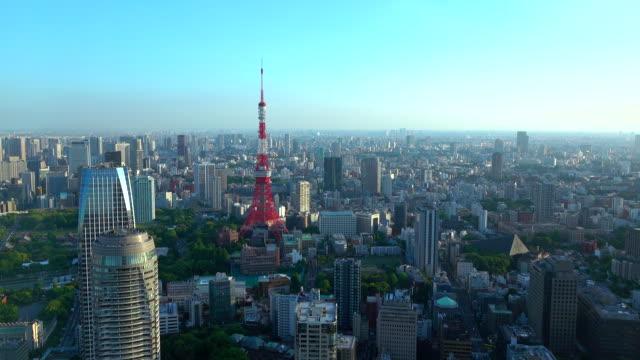 東京タワー-4 k - 東京タワー点の映像素材/bロール