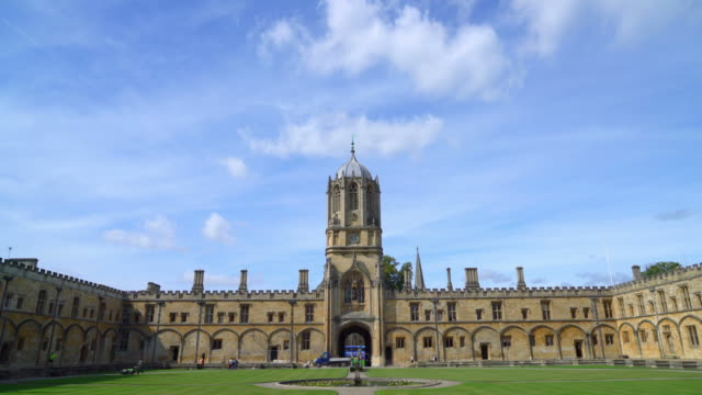 Tom Tower of Christ Church at Oxford , UK