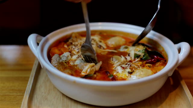 Tom Yum Kung Noodles