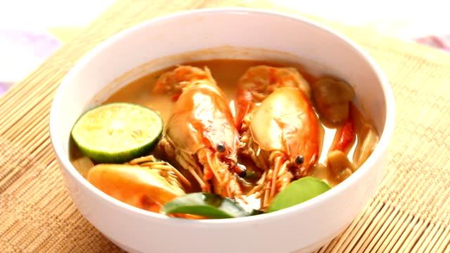 tom yum kung , Thai food video