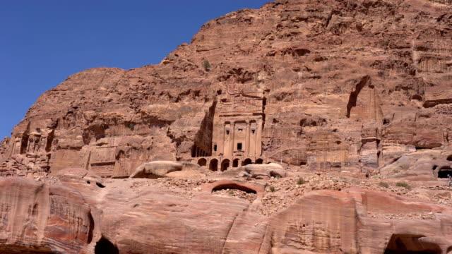 Tomb on street of facades petra, Jordan